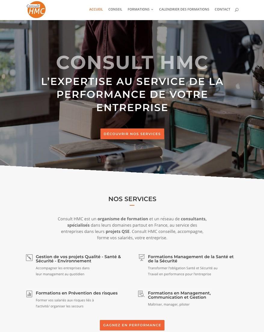 site vitrine HMC consult