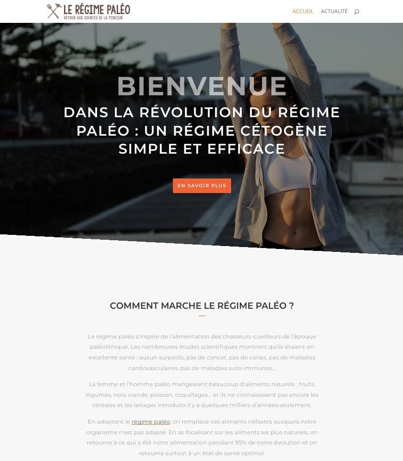 site web régime