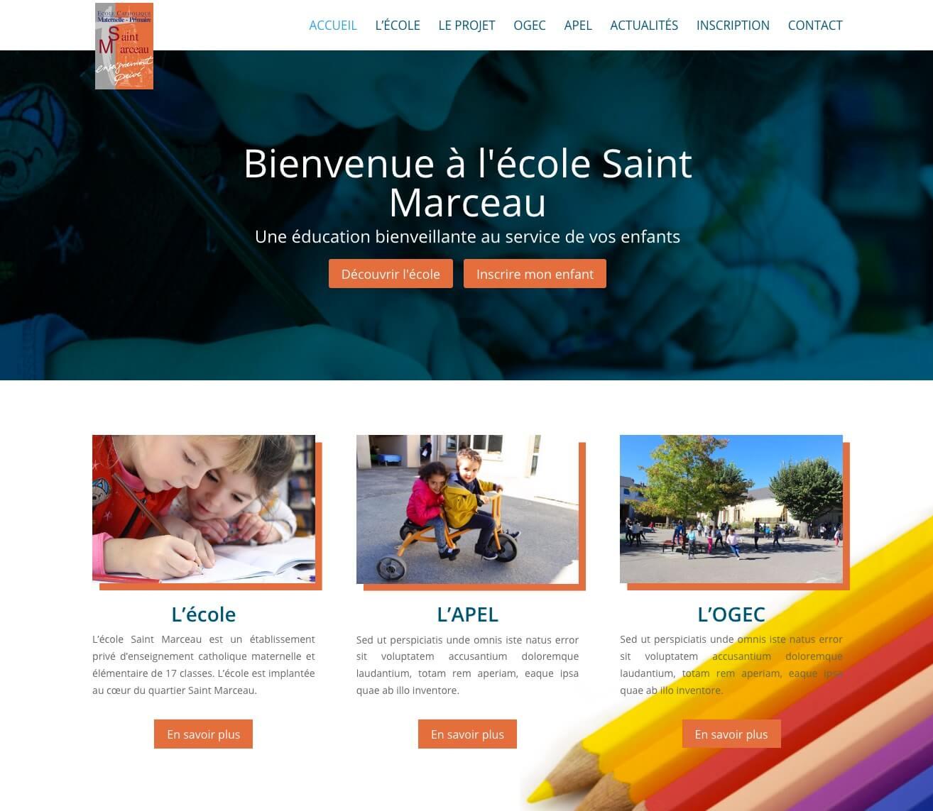 école saint marceau Orléans