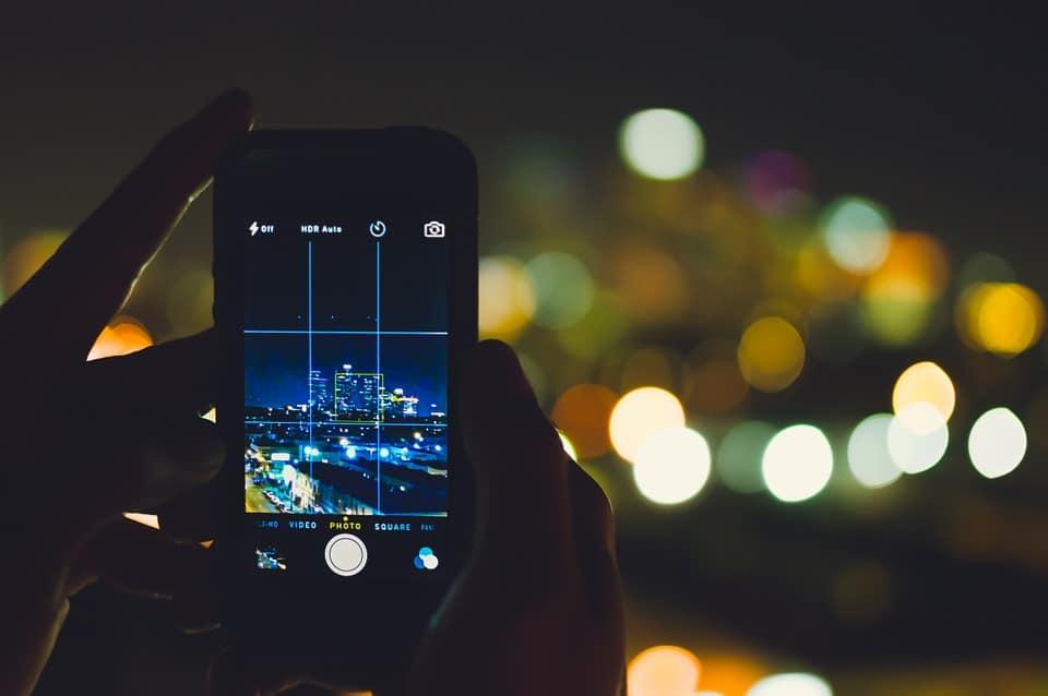 une image pour améliorer le SEO d'un article sur la nuit