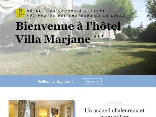 Hotel-villa-marjane.fr